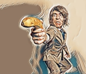 Łap za banana! To znaczy broń!